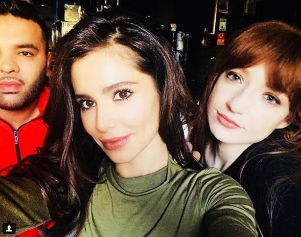 Cheryl has reportedly been working with Naughty Boy and her former bandmate, Nicola Roberts
