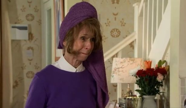 The towel placed on Gail's head left fans baffled