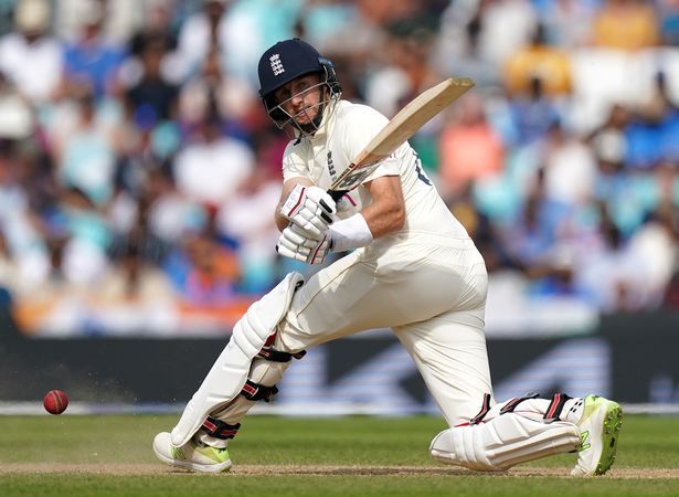 England's Joe Root batting during day five of the cinch Fourth Test at the Kia Oval, London. Picture date: Monday September 6, 2021
