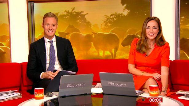 BBC Breakfast's Dan Walker has admitted he is jealous of Countryfile presenter Matt Baker