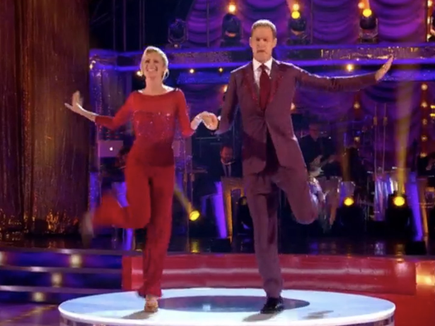 Dan Walker pays emotional tribute to BBC's Louise Minchin with first Strictly dance
