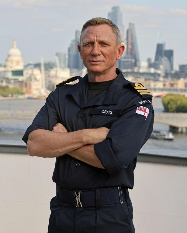 Actor Daniel Craig could serve in the Royal Navy