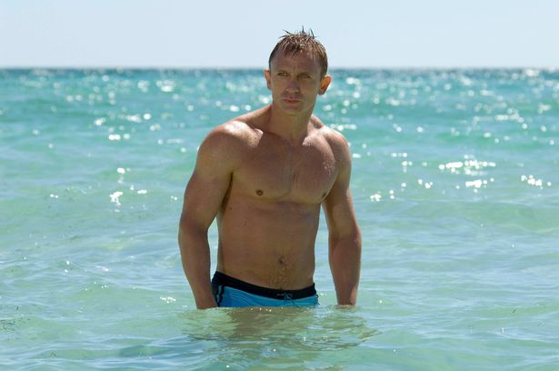 Daniel Craig has admitted he stripped off several times in No Tome To Die