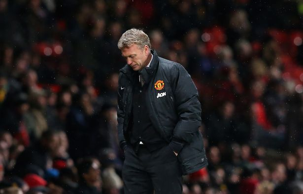 David Moyes was sacked as Man Utd boss after just nine-and-a-half months in charge