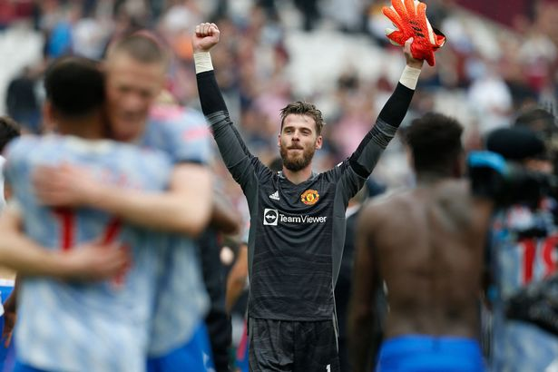 De Gea came to United's rescue on Sunday