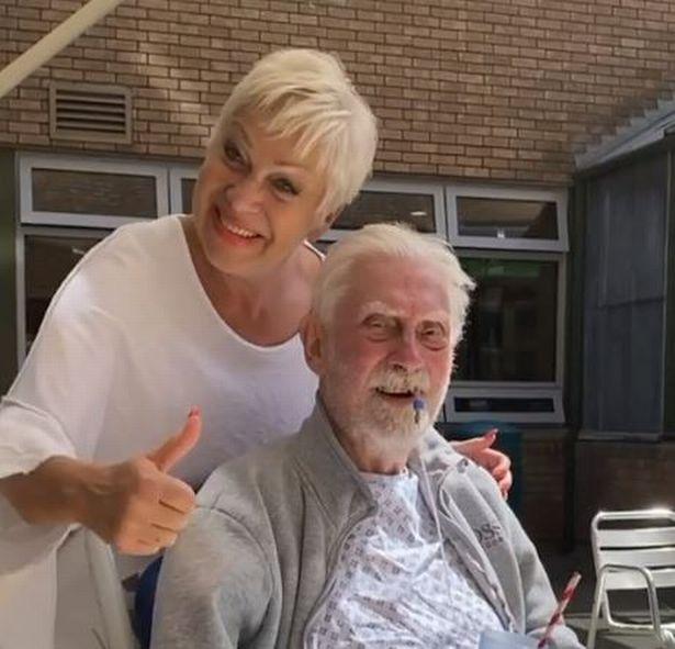 Denise Welch has been left heartbroken following the death of her dad, Vin