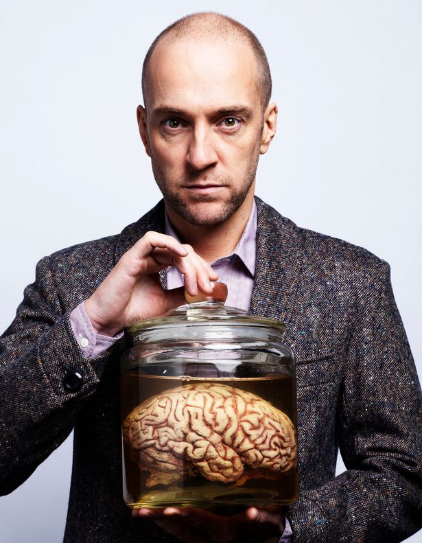 Derren Brown had a pickled kitten and octopus on display in his home