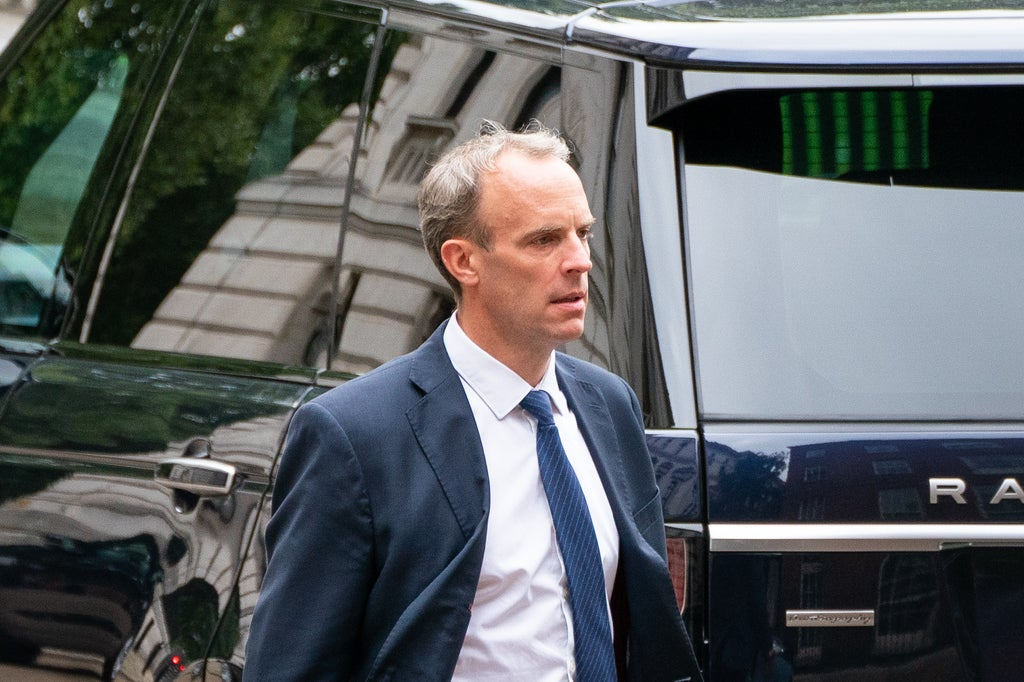 Dominic Raab's suggestion that prisoners plug the HGV lorry driver gap has people scoffing