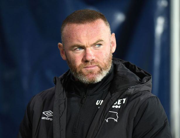 Derby County Manager Wayne Rooney during the Sky Bet Championship match between West Bromwich Albion and Derby County at The Hawthorns on September 14, 2021 in West Bromwich, England.