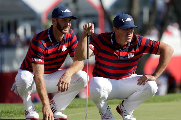 Dustin Johnson and Brooks Koepka reportedly rowed at the 2018 Ryder Cup