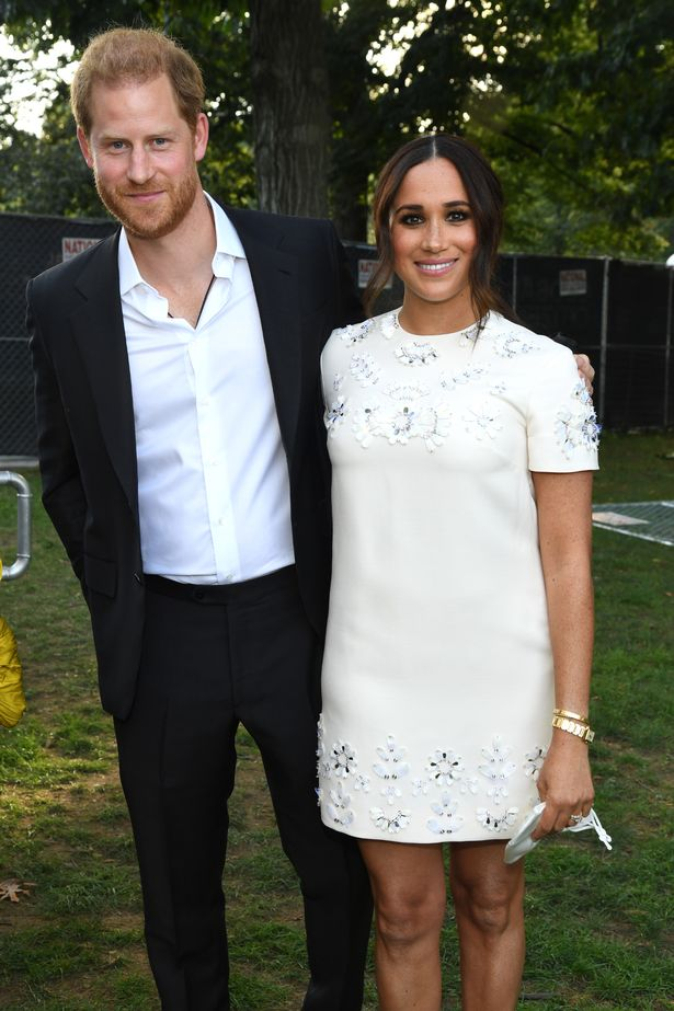 Prince Harry was spotted wearing a wire which could be for the couple's upcoming Netflix deal