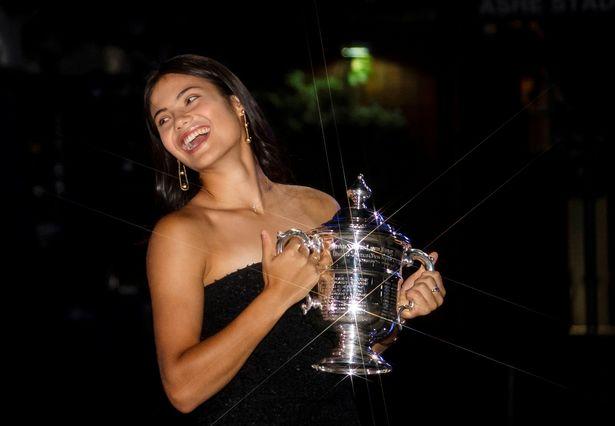 Emma Raducanu earned an eye-watering £1.8m in prize money from her US Open triumph