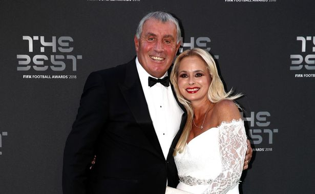 Peter Shilton and wife Steph left fans confused with a birthday message
