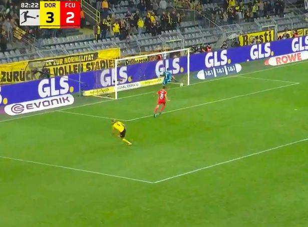 Erling Haaland scored a stunner on Sunday