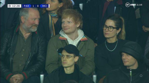 Ed Sheeran at the Parc des Princes
