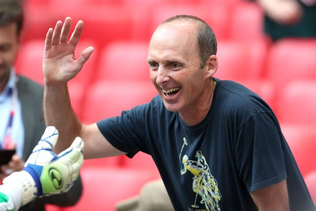 Mike Dean showed up at their Tranmere's play-off semi-final and final victories back in 2019