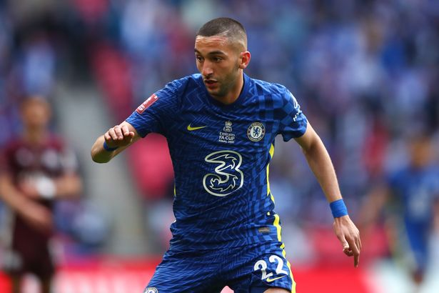 Chelsea star Hakim Ziyech's shots on goal were unsuccessful but helped the lucky gambler win big