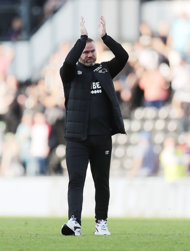 Wayne Rooney's time at Derby County could be coming to an end