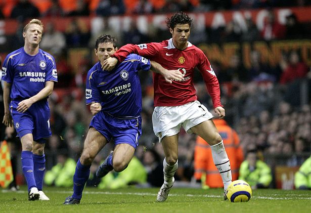 Frank Lampard did not include Cristiano Ronaldo as one of the two best players he ever played against