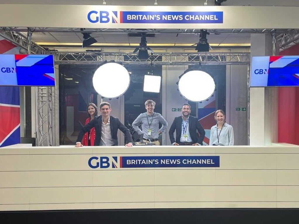 GB News has a stand at the Labour Party conference and absolutely nobody knows why