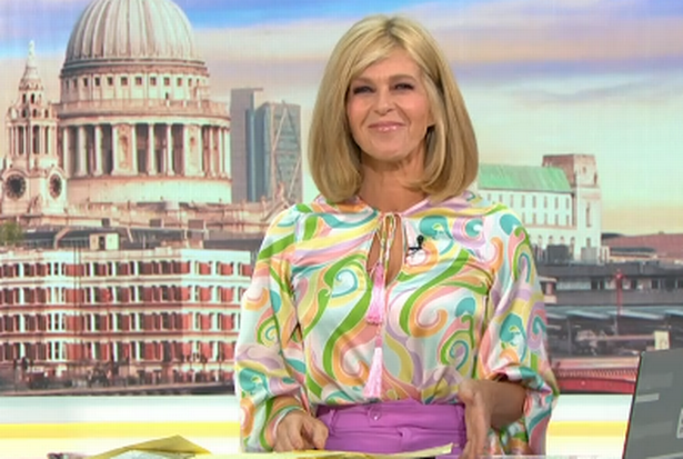 Richard Arnold swipe at Kate's outfit