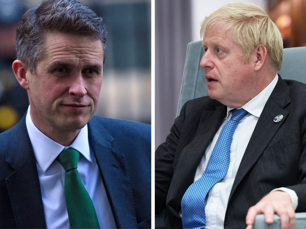 Gavin Williamson unfollowed Boris Johnson on Instagram and people are laughing at the pettiness