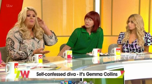 Gemma Collins first appeared on Loose Women in 2018