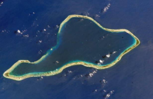 Google Maps censored some of the Mururoa Island