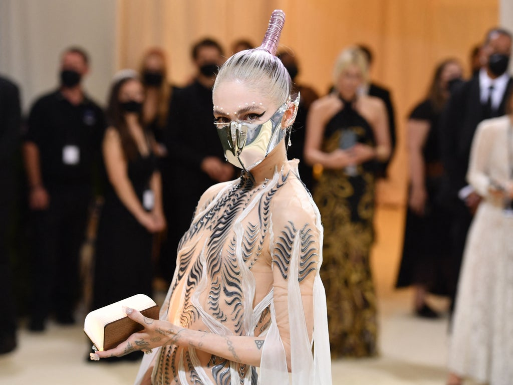 Grimes has got plans for a lesbian commune on one of Jupiter's moons after her split from Elon Musk