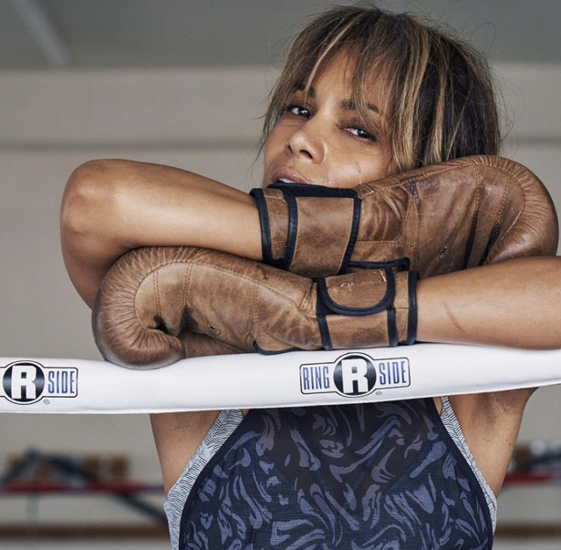 Halle will be stepping into the ring and producing Bruised