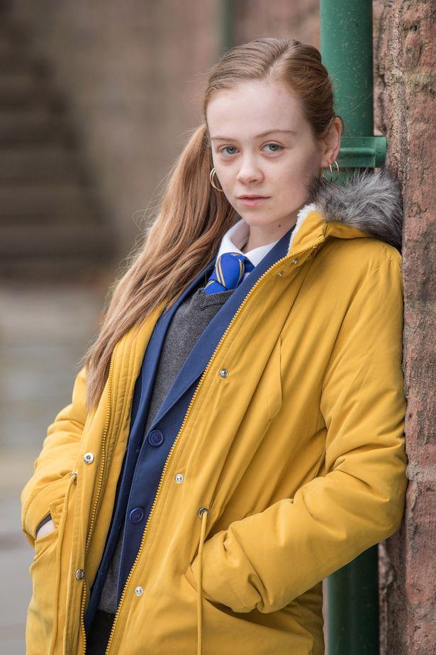 Niamh Blackshaw plays Juliet Quinn in Hollyoaks