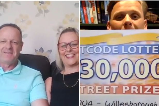 Hubby left red-faced over comment to wife days before she won Lottery jackpot