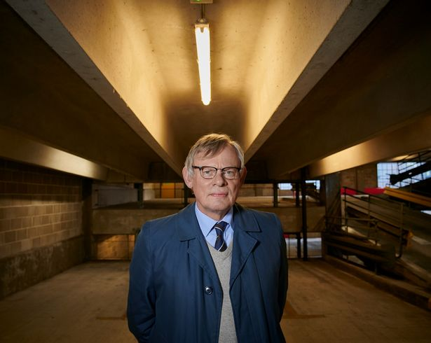 Martin Clunes plays DCI Colin Sutton in the crime thrilling drama