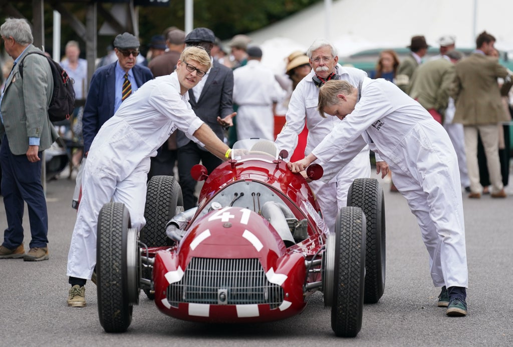 In Pictures: Classic motors and vintage glamour at Goodwood Revival