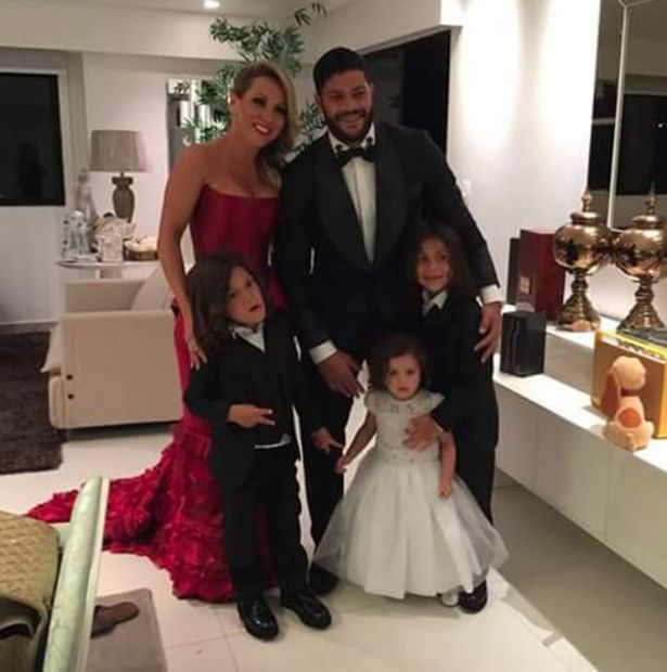 Hulk and his ex-wife Iran have shared a war of words following their separation despite having three children together