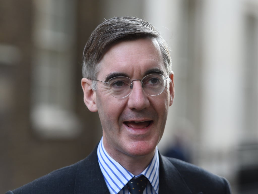 Jacob Rees-Mogg lambasted after suggesting that MPs who wear face masks are less hard working