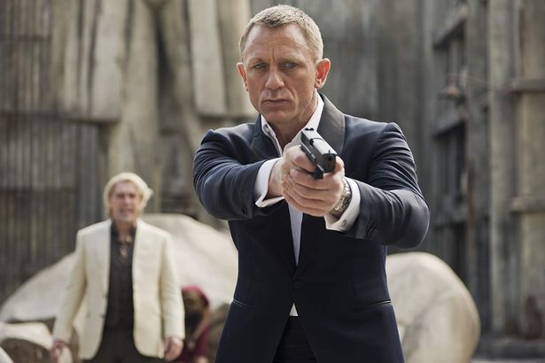 Image of Daniel Craig as James Bond for film Spectre