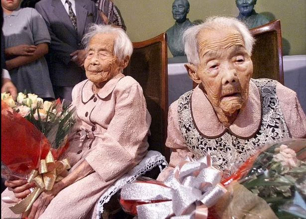 Japanese sisters officially become 'world's oldest identical twins' at 107-years-old