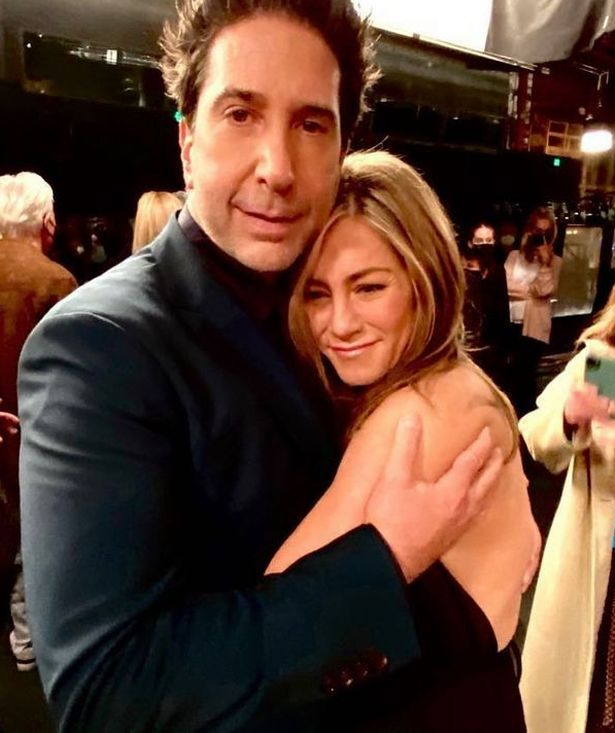 Jennifer Aniston and David Schwimmer reunited after the Friends Reunion episode special