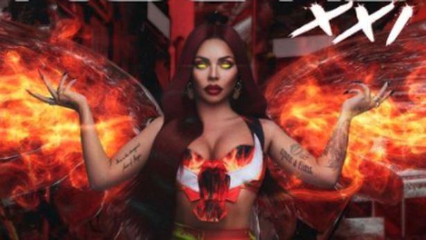 Jesy Nelson wows fans with a fiery brand new look in jaw-droppingly sexy magazine cover