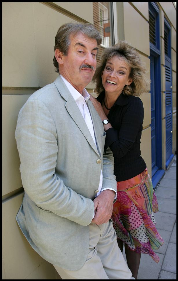 Actors John Challis and Sue Holderness aka Boycie and Marlene from Only fools and horses.