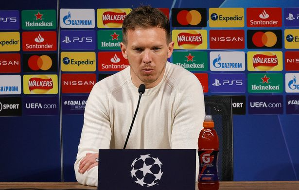 Julian Nagelsmann believes football needs to improve the technology it uses