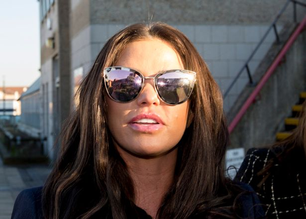 Katie Price was allegedly arrested following the incident