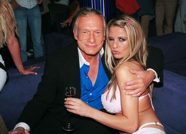 Katie stayed at the Playboy Mansion for six weeks in 2002