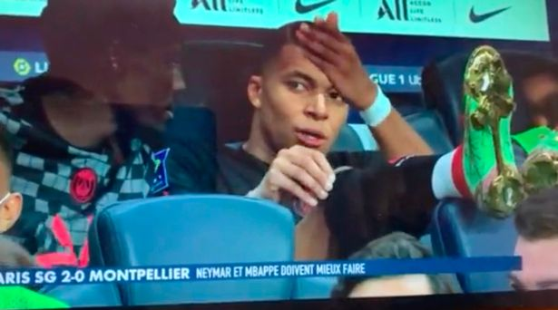 """Kylian Mbappe caught on camera blasting Neymar for """"not passing"""" to him"""