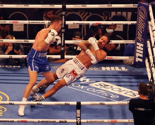 Callum Smith knocked out Lenin Castillo