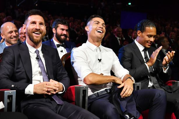 Cristiano Ronaldo and Lionel Messi are currently considered the best players in the world