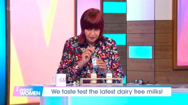 Janet-Street Porter confessed to drinking 'hot' camel's milk