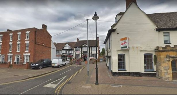He was served with the order earlier this month after he made threats at an Evesham pub, the Gardeners Arms