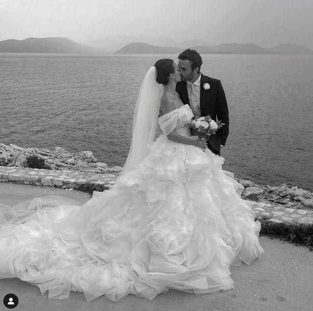 Lucy Watson reveals breathtaking wedding dress after marrying Made in Chelsea beau